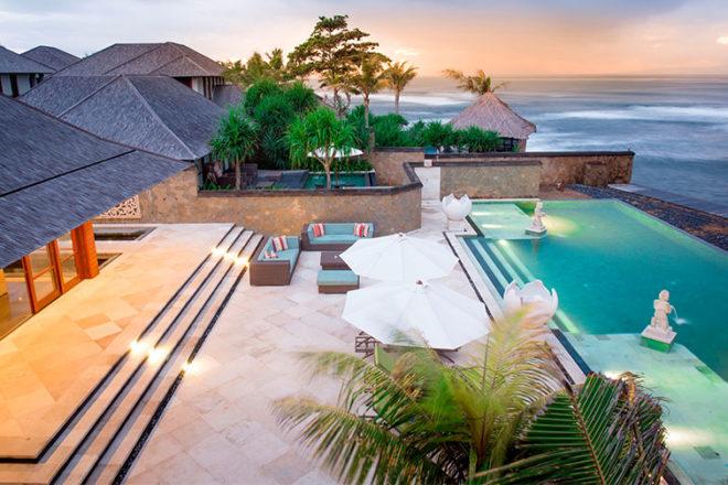 Beachfront Villas The Luxury Bali