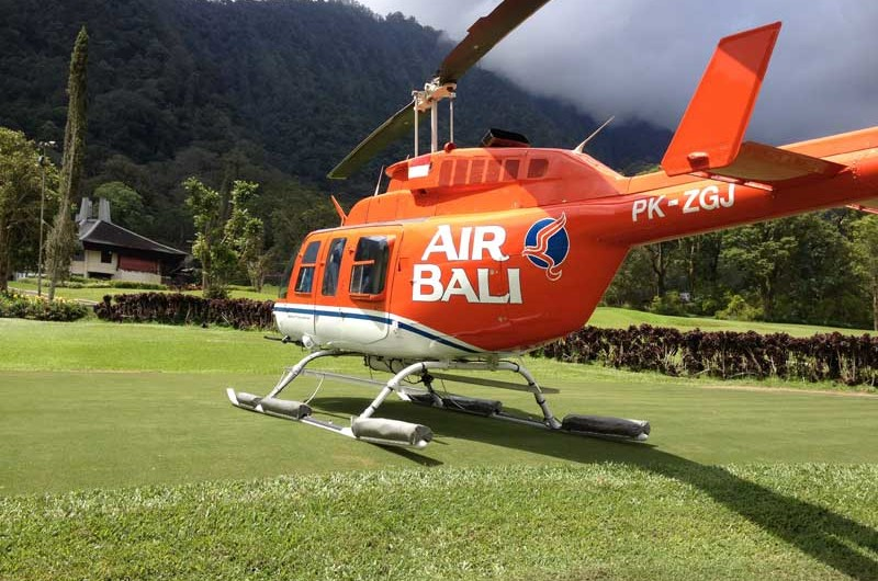 Bali Air Helicopter  The Luxury Bali
