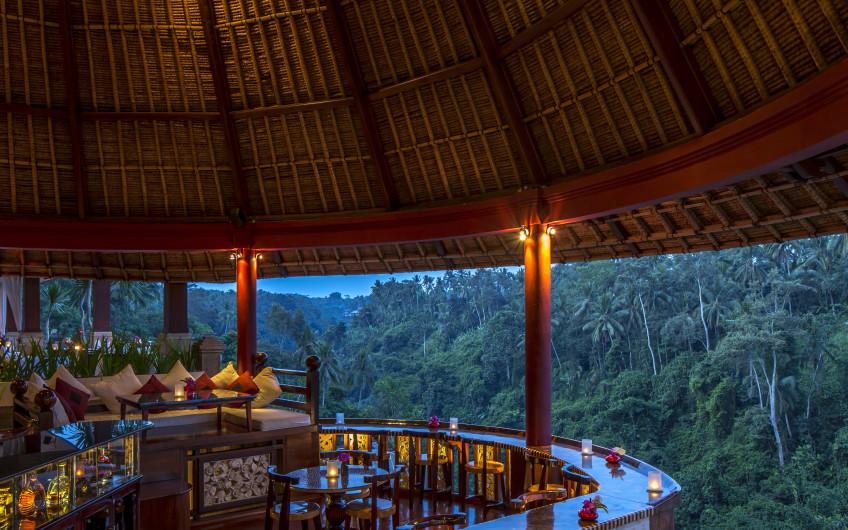 Ubud S Finest Dining Cascades Restaurant At Viceroy Bali
